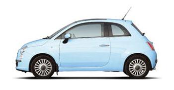 Fiat 500 Panoramic Car Rent Ibiza